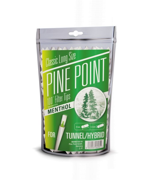 Pine Point Menthol Filter Tips