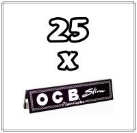 OCB SCHWARZ PREMIUM LONG SLIM (25Stk.)