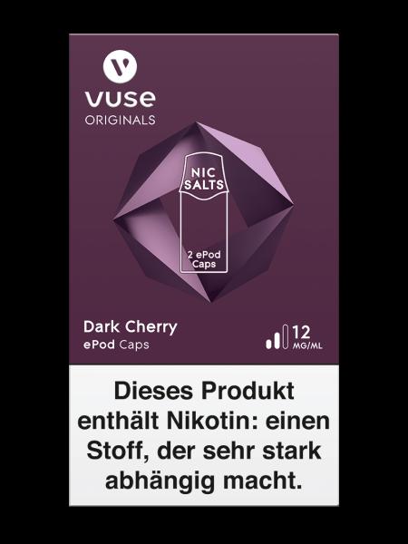 Vuse ePod Caps Dark Cherry