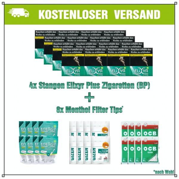 Elixyr+ Green Menthol XXL Aktionspaket (Big Pack)