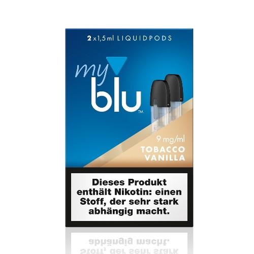 Myblu Tobacco Vanilla Liquidpod 9mg