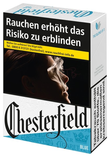 Chesterfield Blue XXL