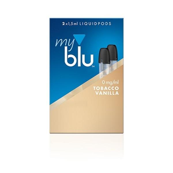 Myblu Tobacco Vanilla Liquidpod 0mg