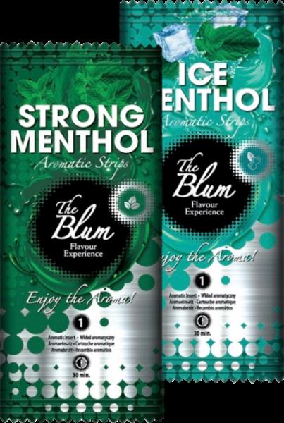 The Blum Aromakarten Menthol