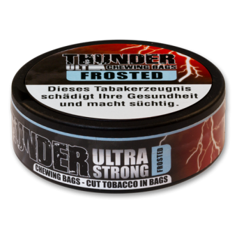 Thunder Ultra Frosted Chewing Bags
