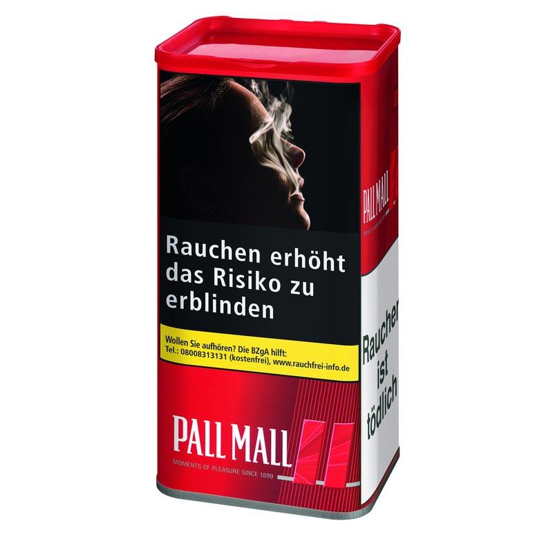 Pall Mall Red XXL Dose   Alle Sorten   Stopftabak   Tabak Barthel