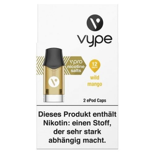 Vype ePod Caps Wild Mango (12mg/ml)