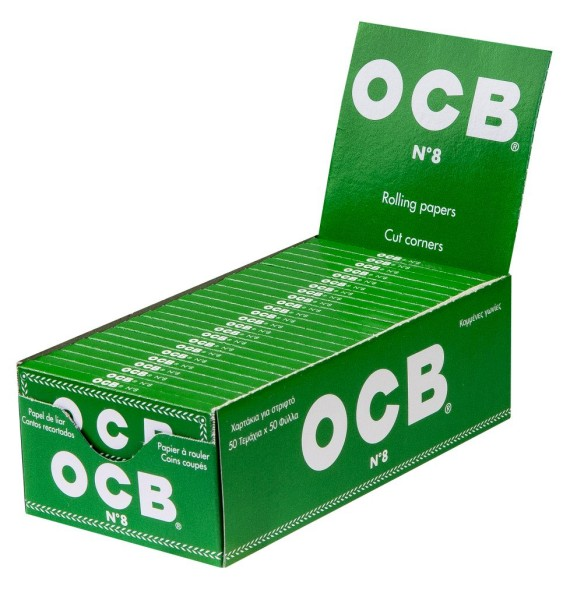 OCB PAPIER GRÜN 50
