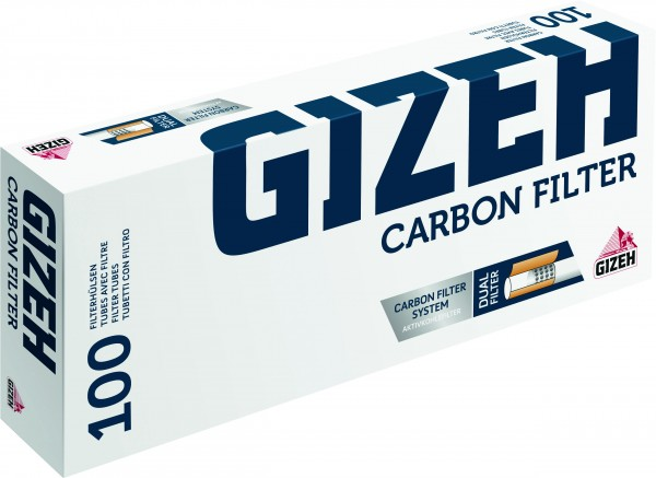 Hülsen Gizeh Carbon Filter