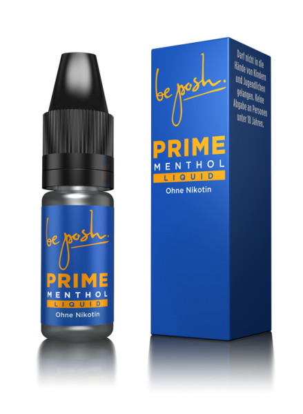 be posh Liquid - Menthol (0mg/ml)