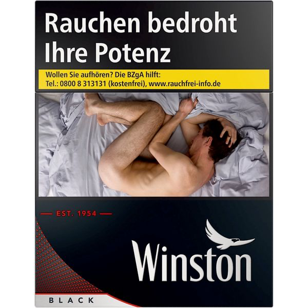 Winston Black 2XL
