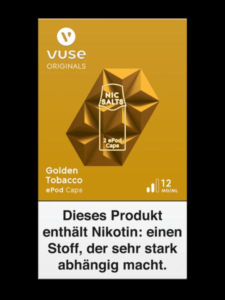 Vuse ePod Caps Golden Tobacco