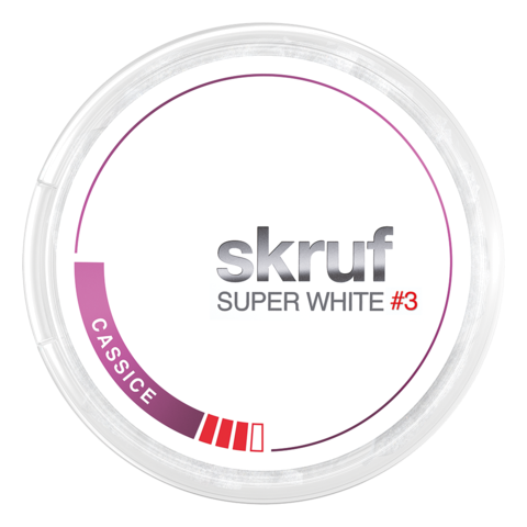 skruf Cassice Super White #3