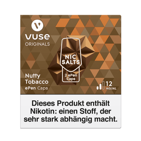 Vuse ePen Caps - Nutty Tobacco