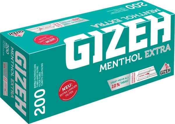 Gizeh Menthol Extra Hülsen