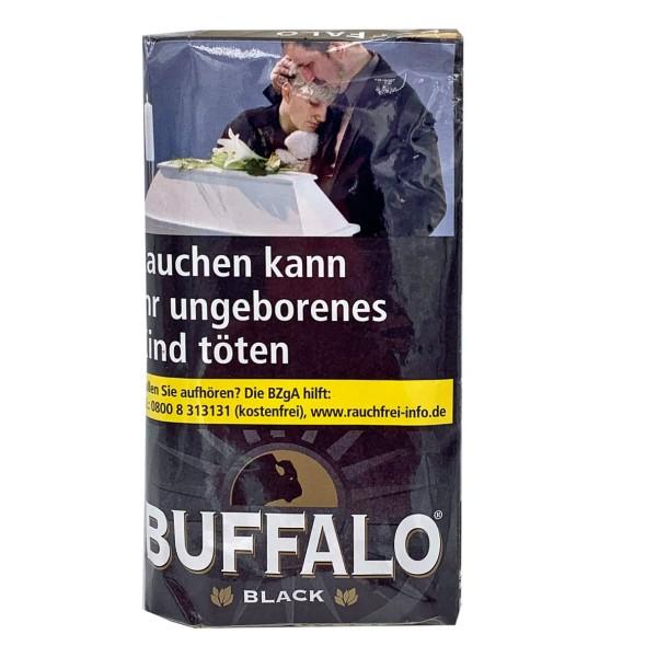 Buffalo Zware Shag Black Tabak