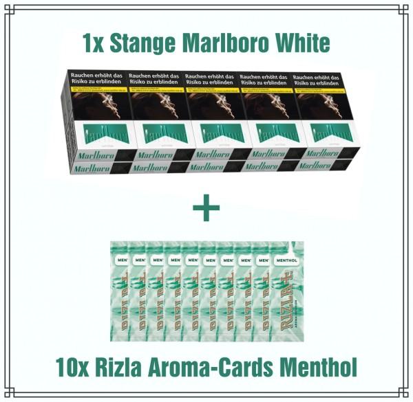 Marlboro White x Rizla Menthol Aktionspaket