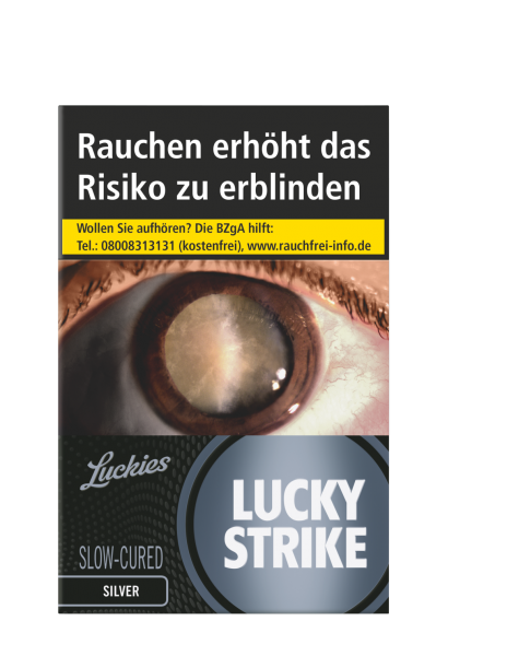 Lucky Strike Silver (Slow Curved)
