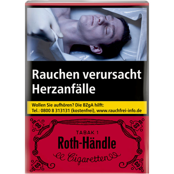 Roth-Händle ohne Filter