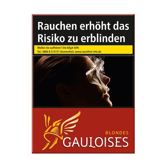 Gauloises Rot XXL