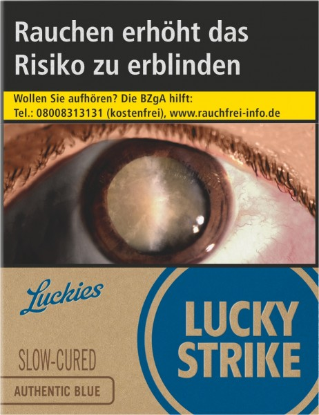 Lucky Strike Authentic Blue XXL