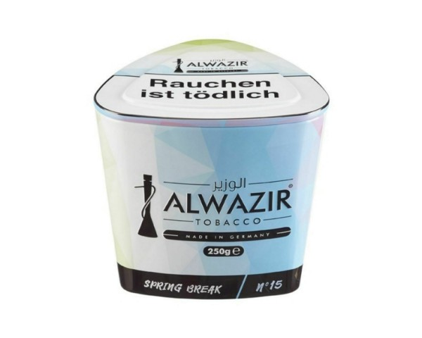 Alwazir Tobacco 250g - No. 15 Spring Break