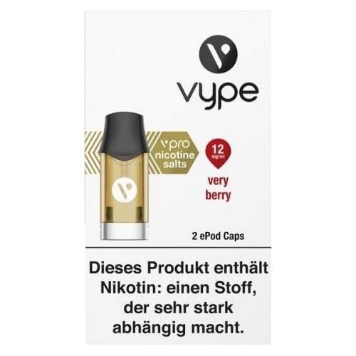 Vype ePod Caps Very Berry (12mg/ml)