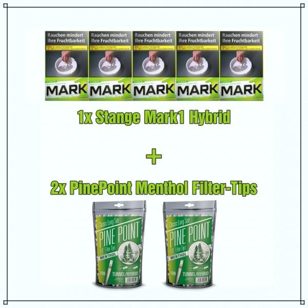 Mark One Hybrid x Pine Point Menthol Aktionspaket