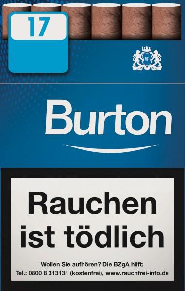 Burton Blue Eco-Zigarillos