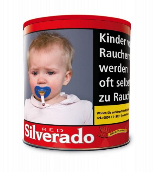 Silverado Wide Cut Red Volumen Tabak