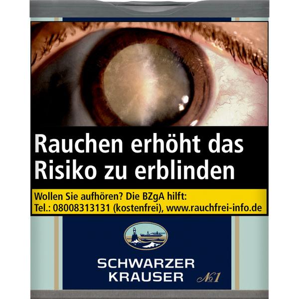 Schwarzer Krauser Dose