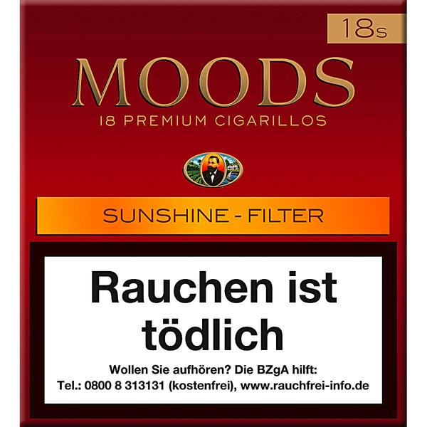 Dannemann Moods Sunshine - Filter