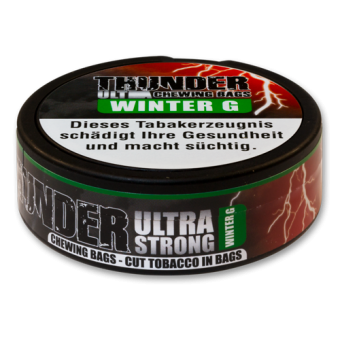 Thunder Ultra Wintergreen Chewing Bags