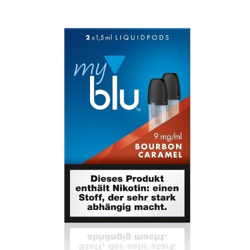 Myblu Bourbon Caramel Liquidpod 9mg