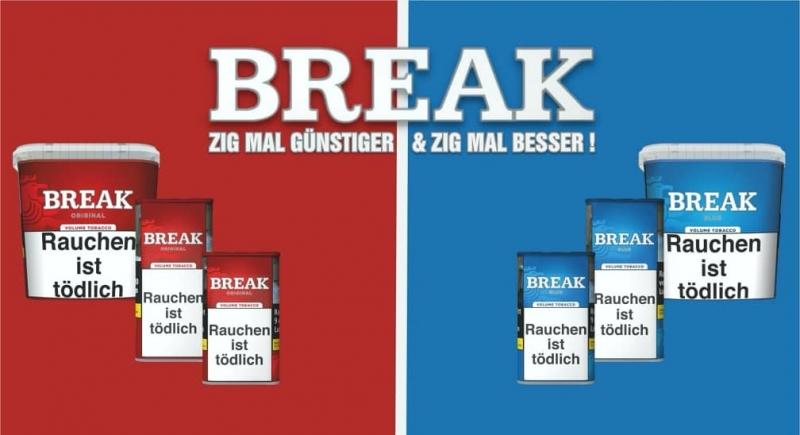 BREAK - Günstiger Stopftabak