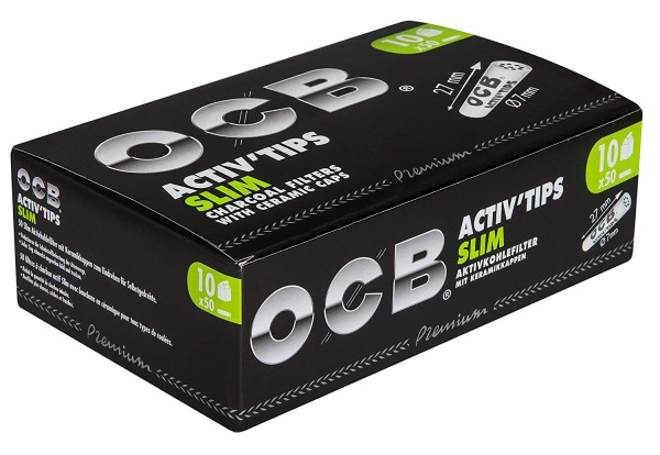 OCB ActivTips Slim 7mm