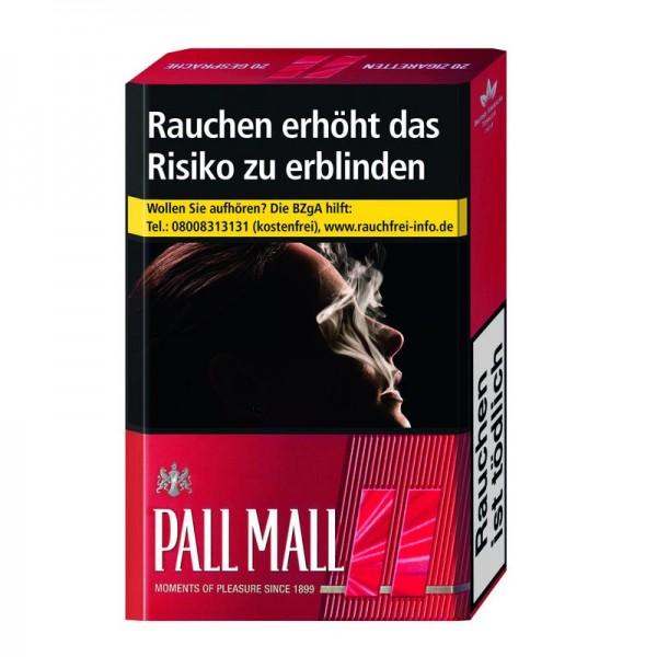 Pall Mall Red Zigaretten