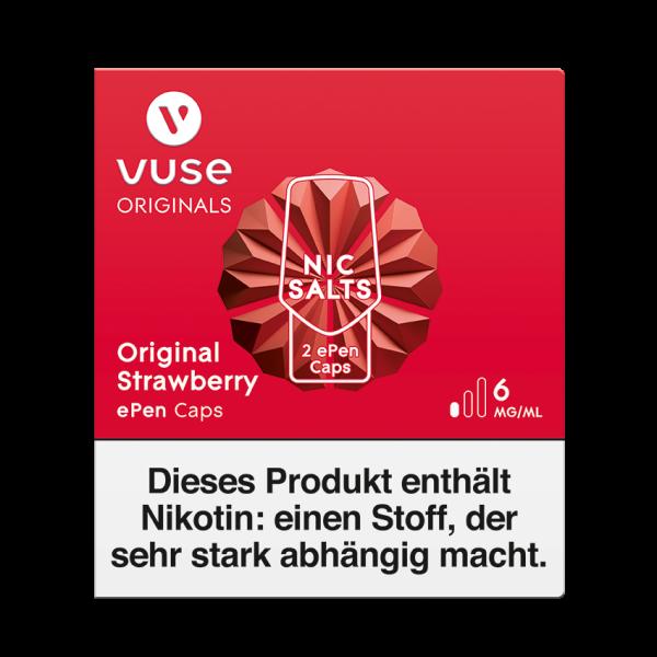 Vuse ePen Caps - Original Strawberry