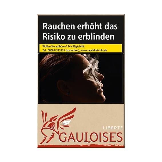 Gauloises Rot Frei Zigaretten