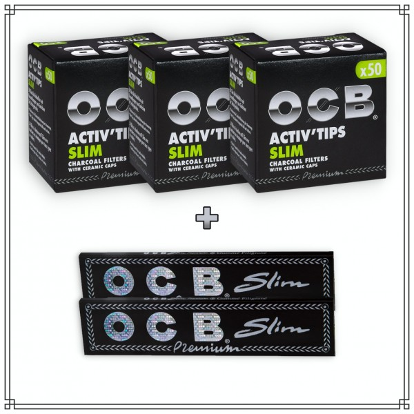OCB Activ'Tips Slim (7mm) Testpaket