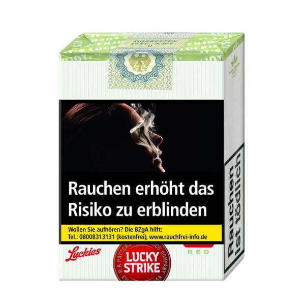 Lucky Strike Red ohne Filter