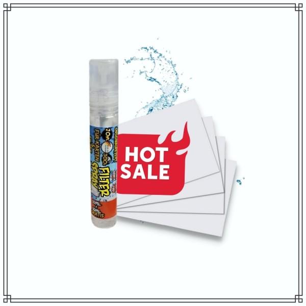 Menthol Filter Spray (20ml) + 33x Spraykarten (%SALE%)