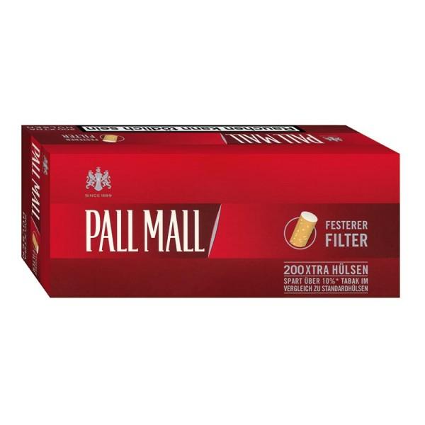 Pall Mall Red XTRA Hülsen