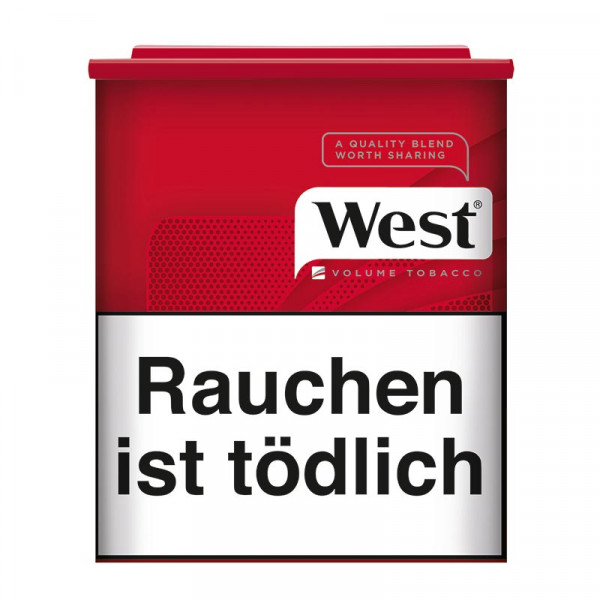 West Red Volumen Tabak Dose