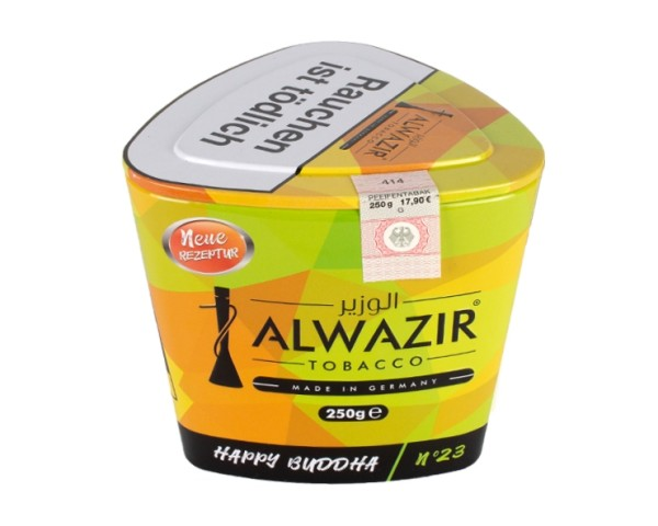 Alwazir Tobacco 250g - No. 23 Happy Buddha