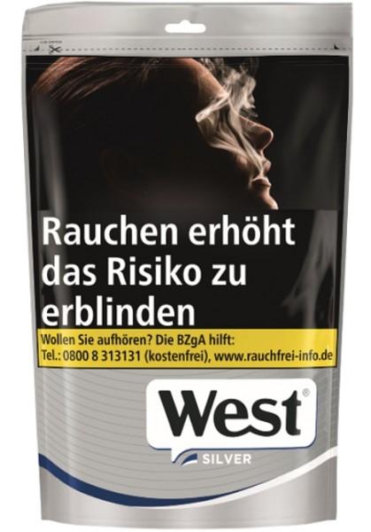 West Silver Volumentabak Zip Bag L