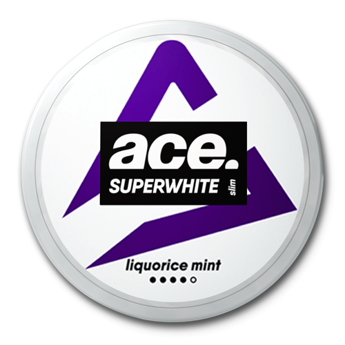 ACE Liquorice Mint Superwhite Slim