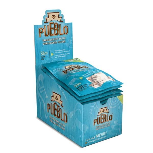 Pueblo Filter Slim ungebleicht