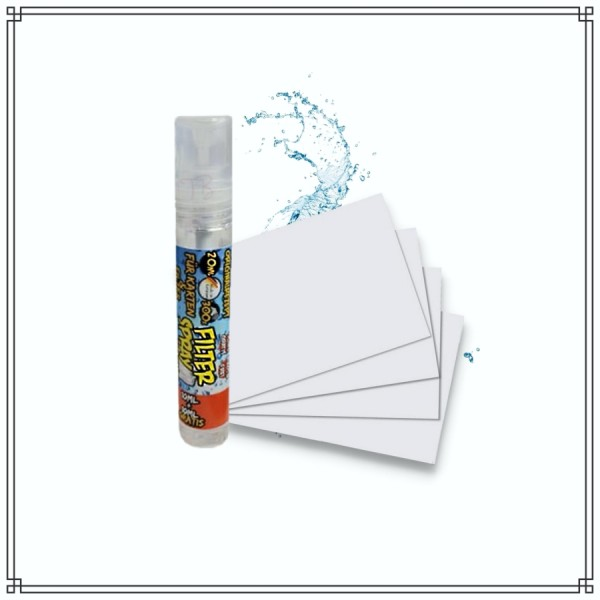 Menthol Filter Spray (20ml) + 33x Spraykarten