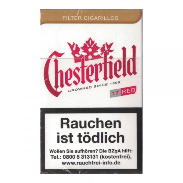 Chesterfield Red Filterzigarillos